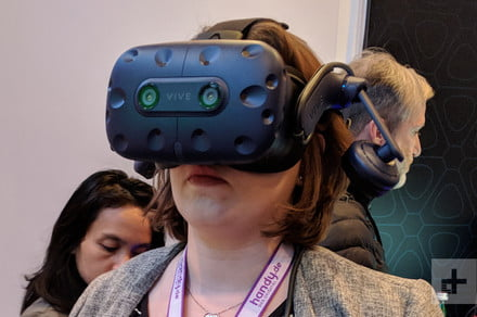 HTC Vive Pro cameras can be used to track hands, controllers