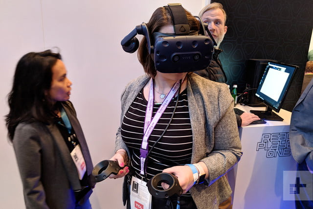 VR Innovations HTC Vive Pro in use