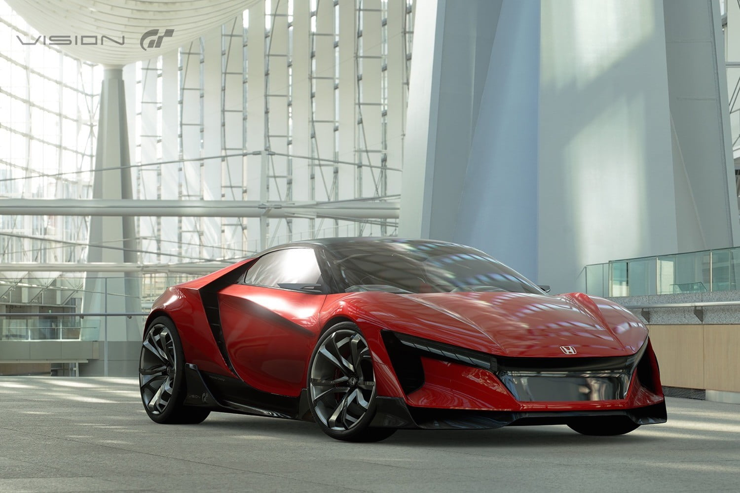 Honda Sports Vision Gran Turismo Concept Photos Details Specs Digital Trends