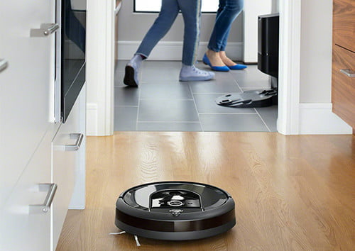 irobot slashes 150 off i7 best roomba robot vacuum that empties itself  charcoal cleanbase photo lifestyle mudroom