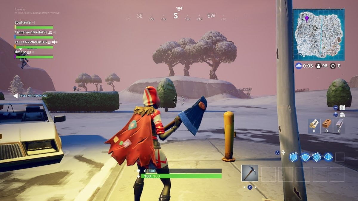 fortnite ice storm challenges destroy golden ice brutes and ranged ice fiends - oce fortnite servers