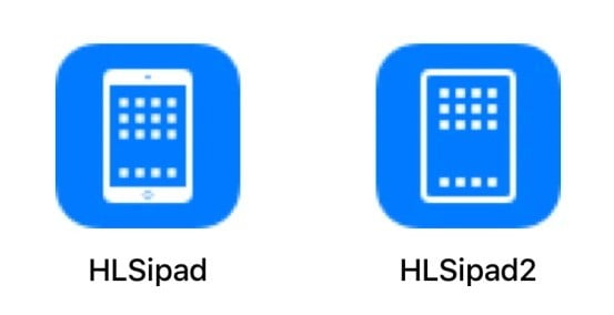 apple ipad pro 2018 icons