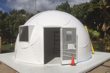 Hawaiian Church Builds Fiberglass Igloos to Help the Homeless