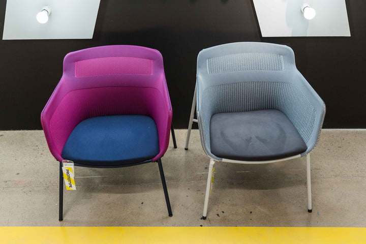 Ikea 3d knit chair ps 2017 collection see through sofaIkea s stretchy 3D knitted chairs are like shoes you sit in. See Through Office Chairs. Home Design Ideas