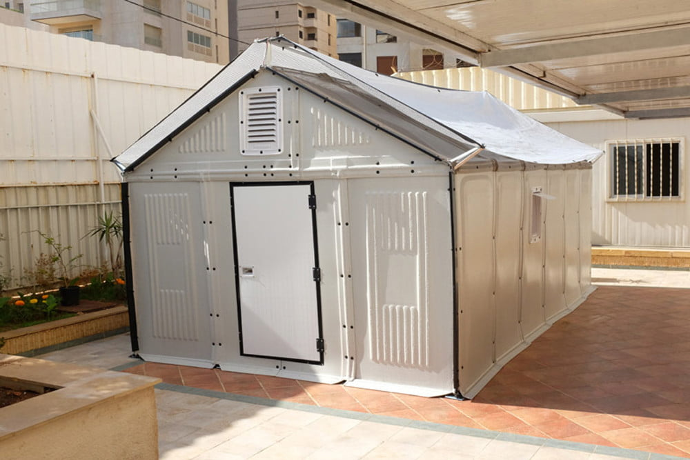 Ikea S Better Shelter Project Housing Takes Just Four Hours To Build Digital Trends