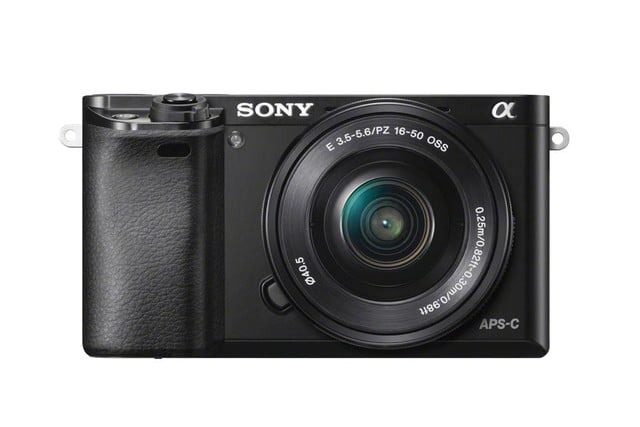 sony unveils alpha a6000 mirrorless camera ilce 6000 wselp1650 front black 1200