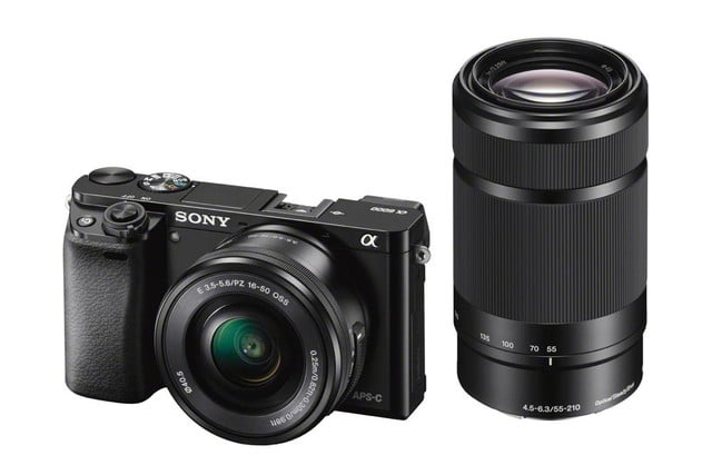 sony unveils alpha a6000 mirrorless camera ilce 6000 wselp1650 wsel55210 black 1200