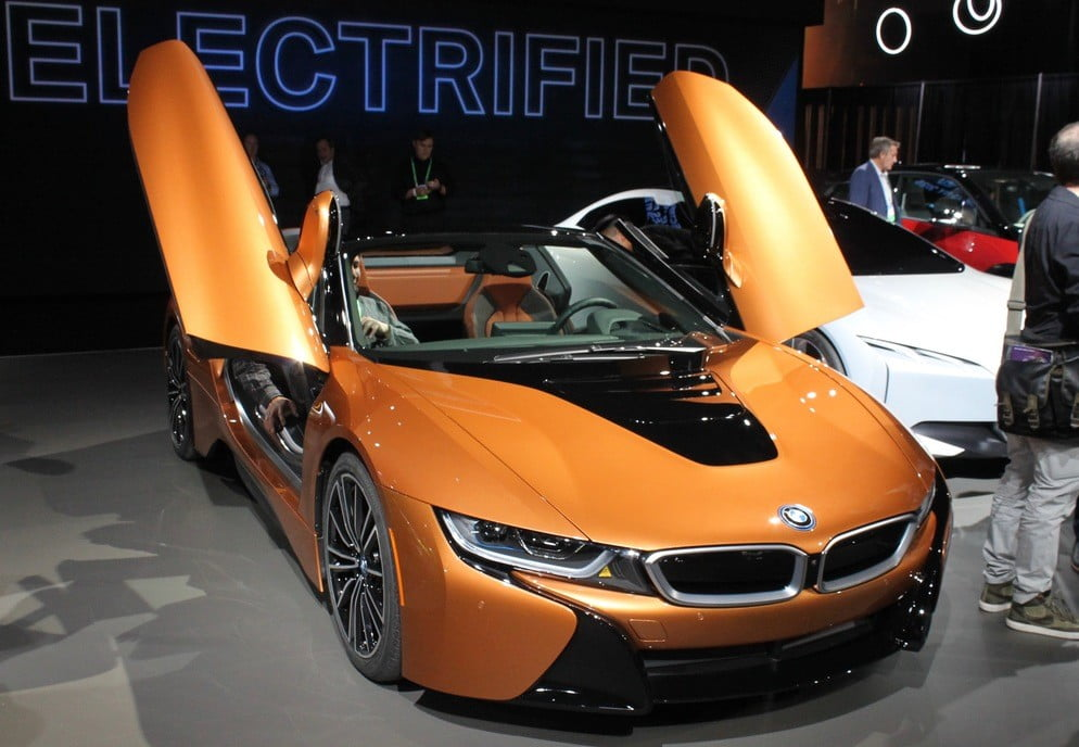 2019 Bmw I8 Roadster News Specs Performance Price Pictures