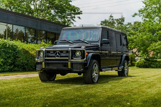 Inkas armored Mercedes_Benz G63 AMG