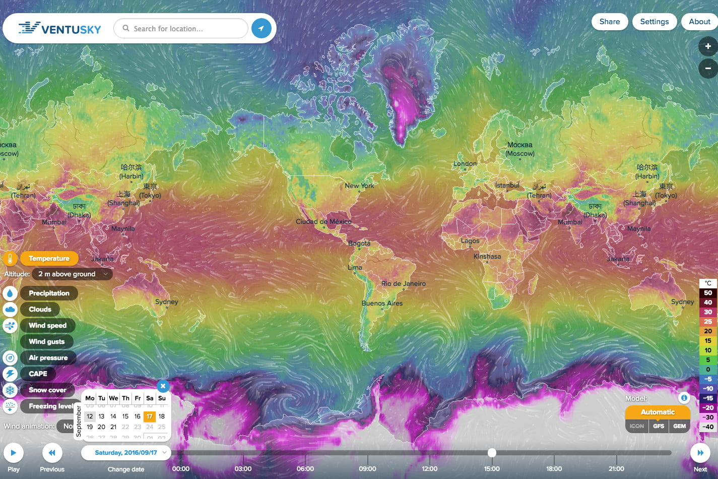 Ventusky Is A Beautiful Weather Map Quite Unlike Any Other Digital