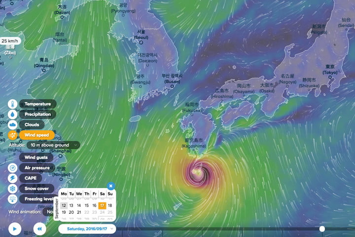 Ventusky is a beautiful weather map quite unlike any other digital ventusky weather map inmeteo japan header gumiabroncs Image collections
