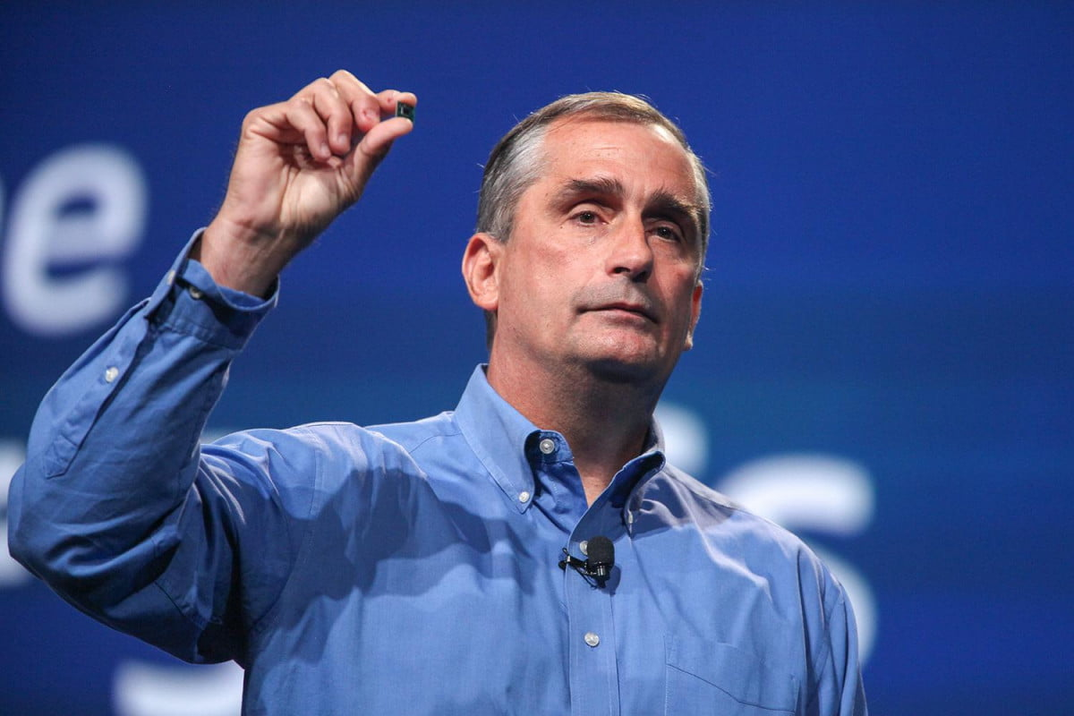 Intel CEO Brian Krzanich unveils the Quark processor