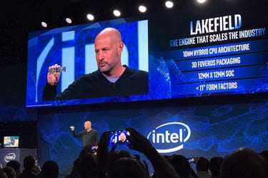 Everything Intel Announced At CES 2019: Ice Lake, Hybrid CPUs, More