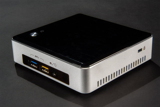Intel NUC Core i5 NUCi5RYK mini PC review front top