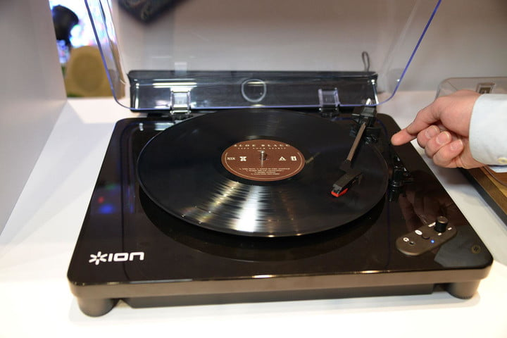 Ion's Air LP turntable lets you beam your records via Bluetooth