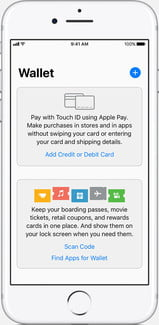how to use apple pay ios11 iphone7 wallet app default