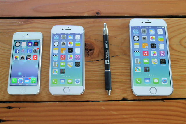 size of the iphone 6 iphone 6 plus size comparison here s how big it is 7876