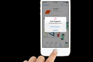 Sweaty types may find the iPhone 5S fingerprint sensor a challenge