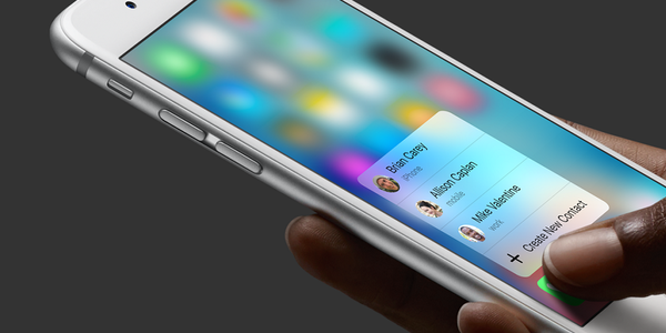 No Pressure-Sensitive Screen on 2019 iPhone, Meaning No 3D Touch