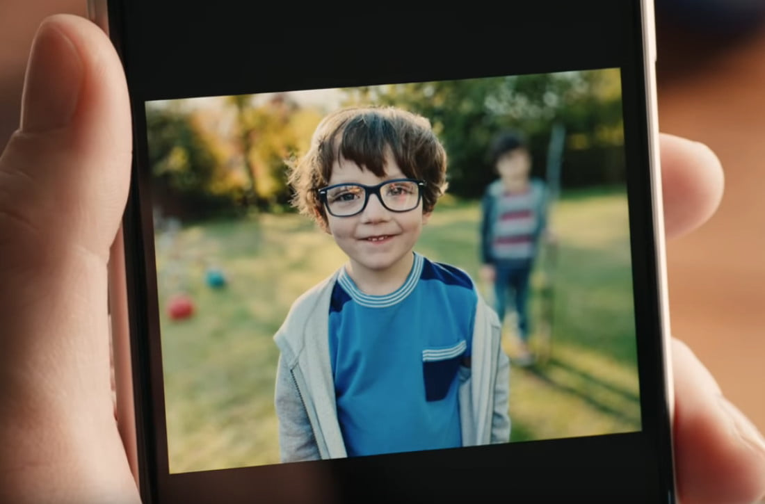 Image result for Be careful who you bokeh, jokes Apple's latest iPhone ad