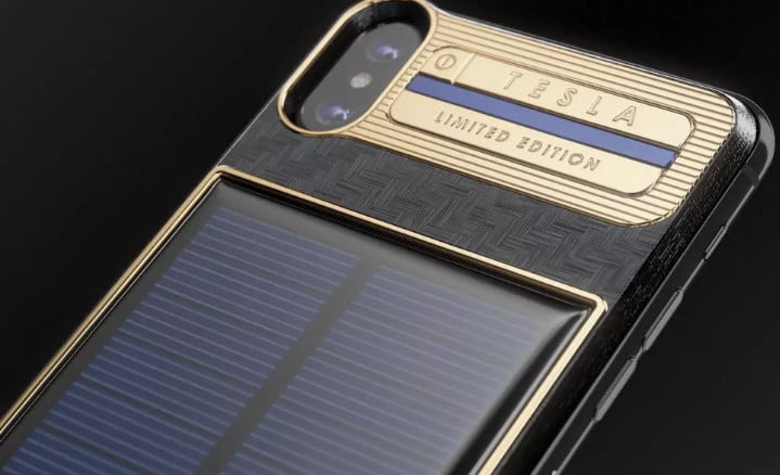 finest selection 4572c 46754 This $4,600 solar charger comes with an iPhone X attached | Digital ...