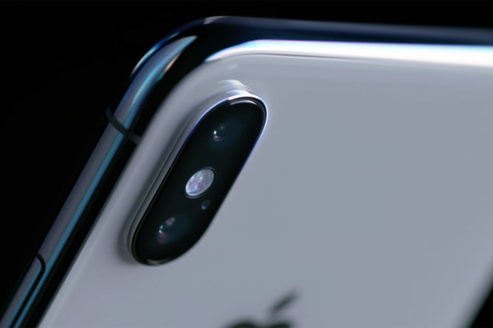 iPhone X close up