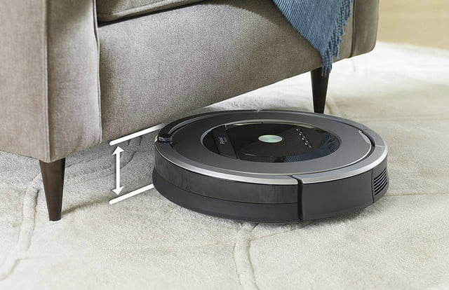 Amazon has a jaw-dropping deal on a renewed Roomba 860 robot vacuum