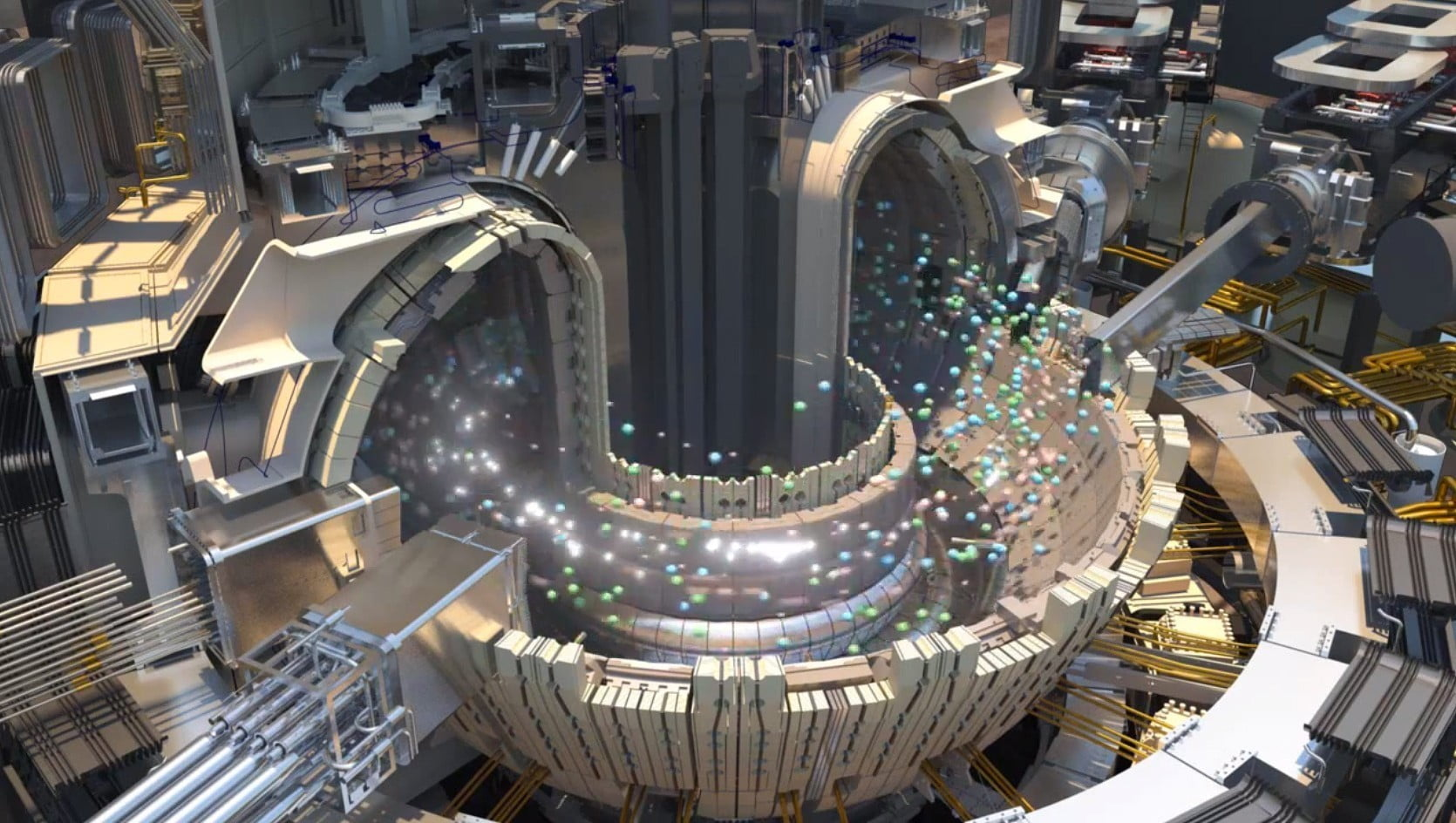 the world s first nuclear fusion plant is now halfway to first