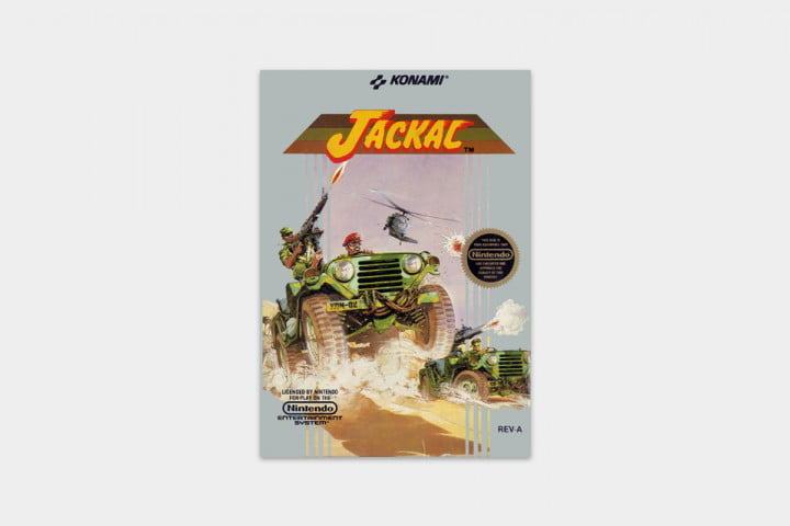 best nes games ever jackal cover