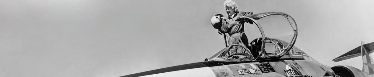 How legendary aviator Jackie Cochran launched the women in space movement