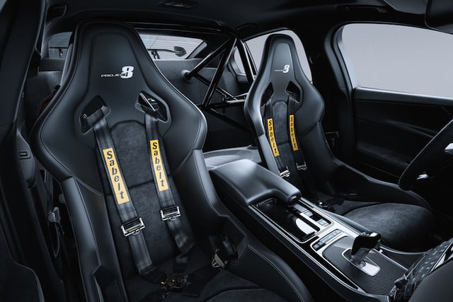 Jaguar-XE-SV-Project 8 interior