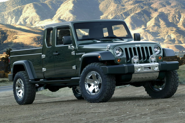 Jeep Wrangler Pickup Specs News Rumors 2005 Gladiator Concept 6