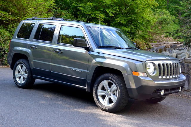2012 Jeep Patriot Exterior Front Right Side