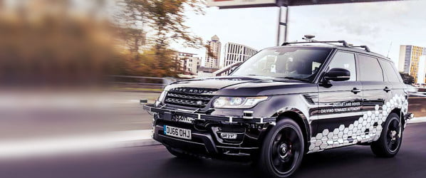 Driverless Range Rover tackles challenging traffic with ease