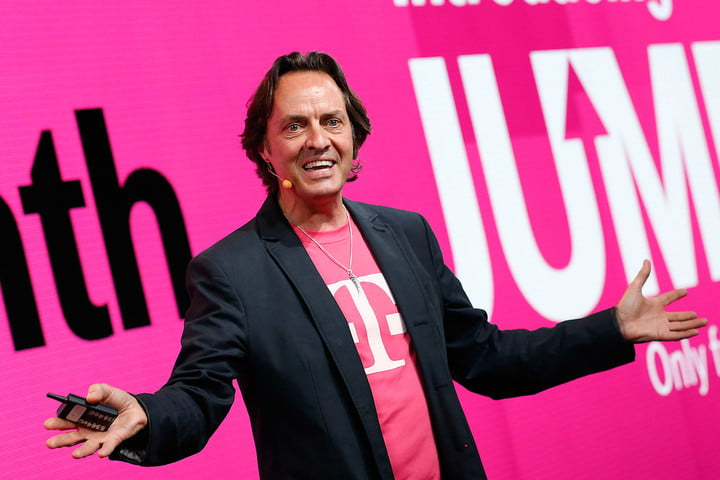 Free trip to Mars, anyone? T-Mobile's CEO is offering a ride to the red planet