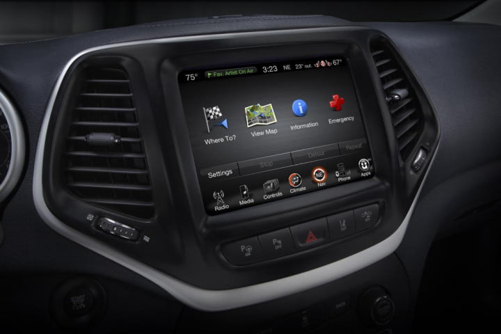 2014 Jeep Cherokee: Uconnect   Digital Trends