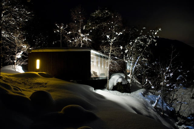 retreat from society and relax in these idyllic cabins around the world juvet landscape hotel 14