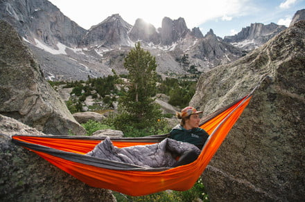 Snag some gear from Kammock before you go hammock camping this Fall