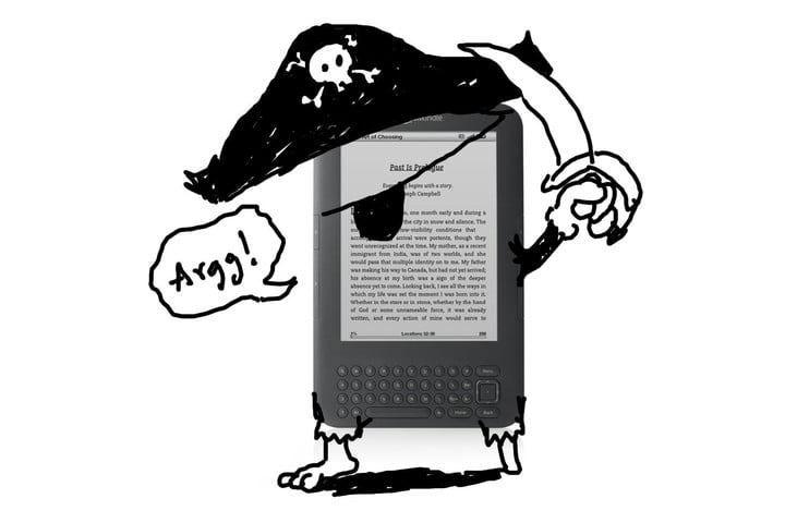 Its safer to pirate ebooks than purchase them yourself digital trends kindle ebook pirate fandeluxe Gallery