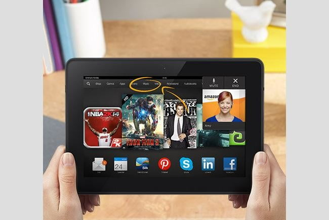 mayday amazon discontinued kindle fire hdx