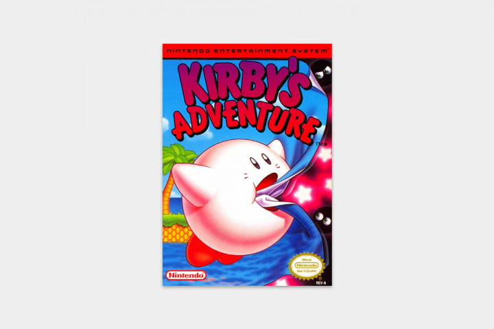 best nes games ever kirby cover