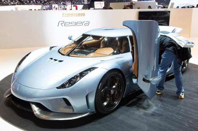 Koenigsegg Regera Official Pictures Specs And Performance