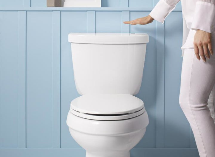 Make your toilet touchless with Kohler\'s new \'wave to flush\' kit ...