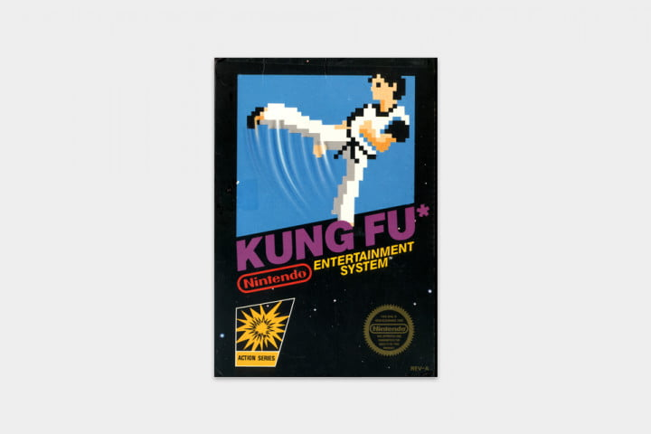 best nes games ever kung fu cover