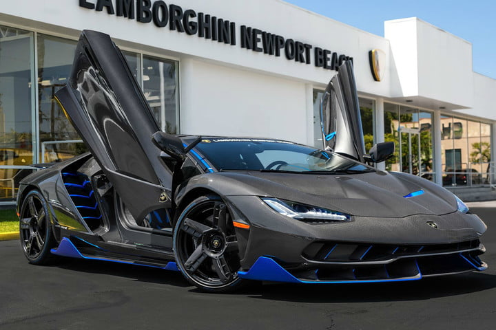 The First Lamborghini Centenario To Be Sold In The U S Was Just
