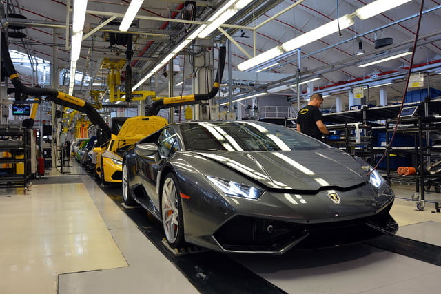 lamborghini factory tour pictures production process 0980