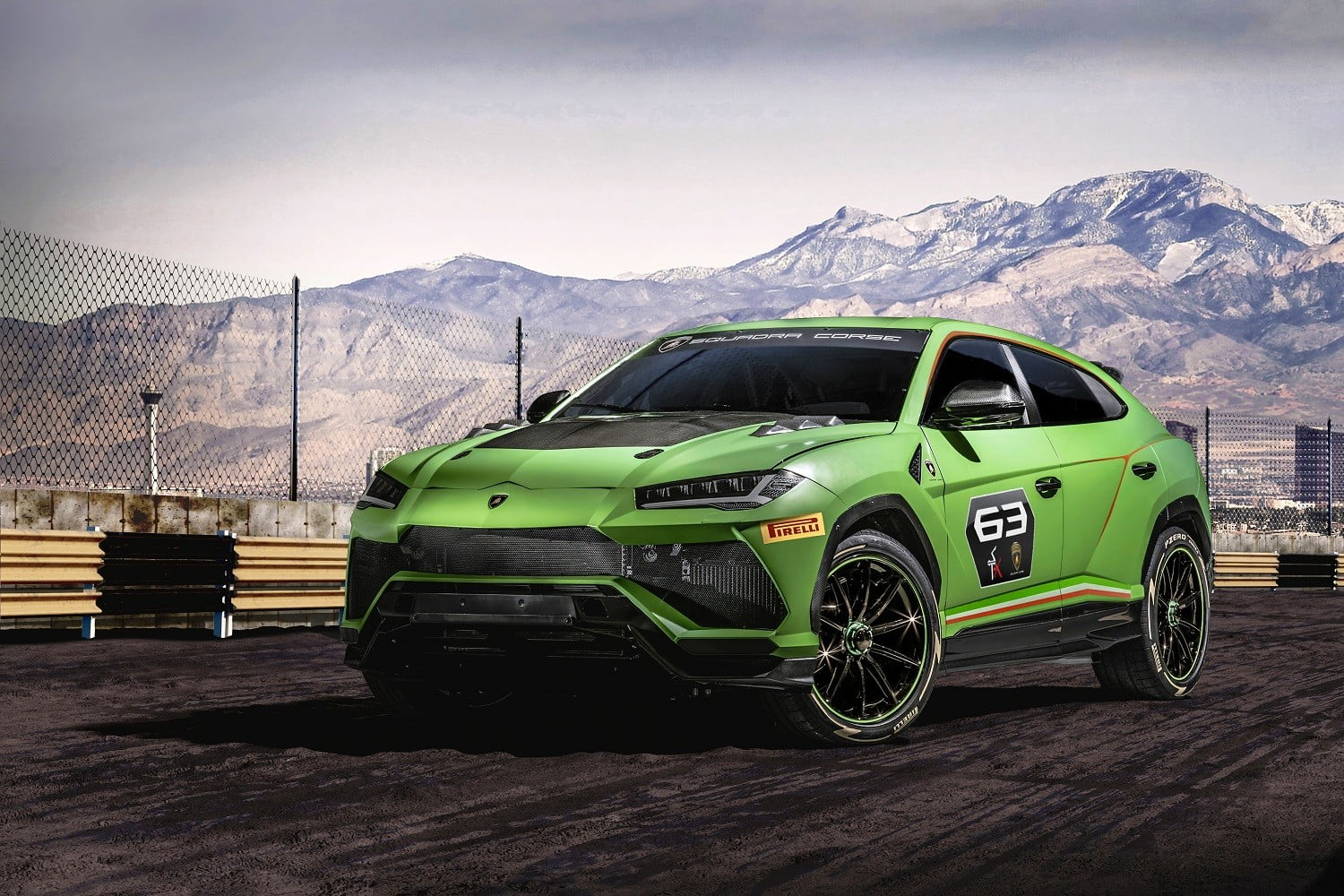 Lamborghini's ST-X Concept Previews an Urus Race Car ...