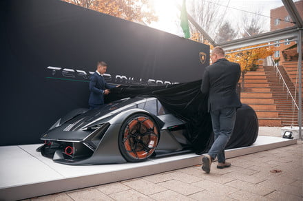 Lamborghini believes kids born in 2018 will still have supercar posters on their wall
