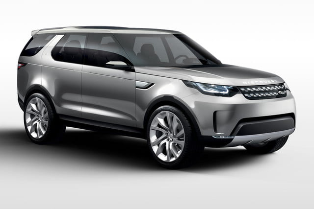 Beau Land Roveru0027s Discovery Vision Concept