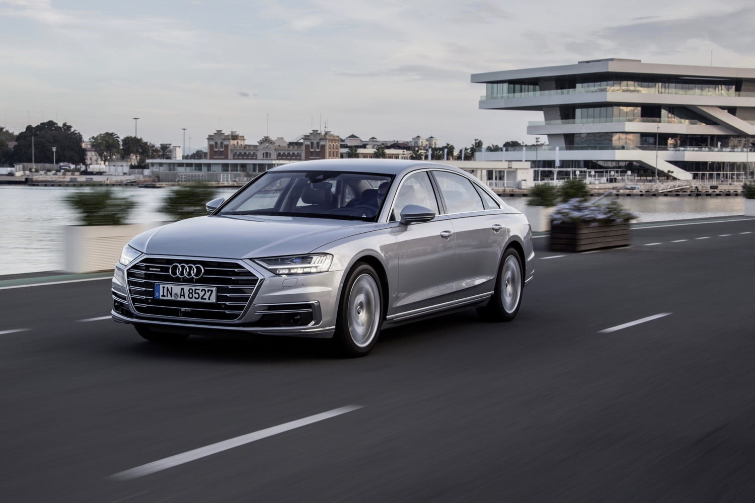 2019 Audi A8 Won't Get Traffic Jam Pilot in the United States | Digital  Trends
